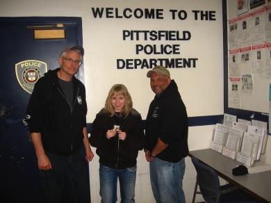Mark, moi et Michael :)